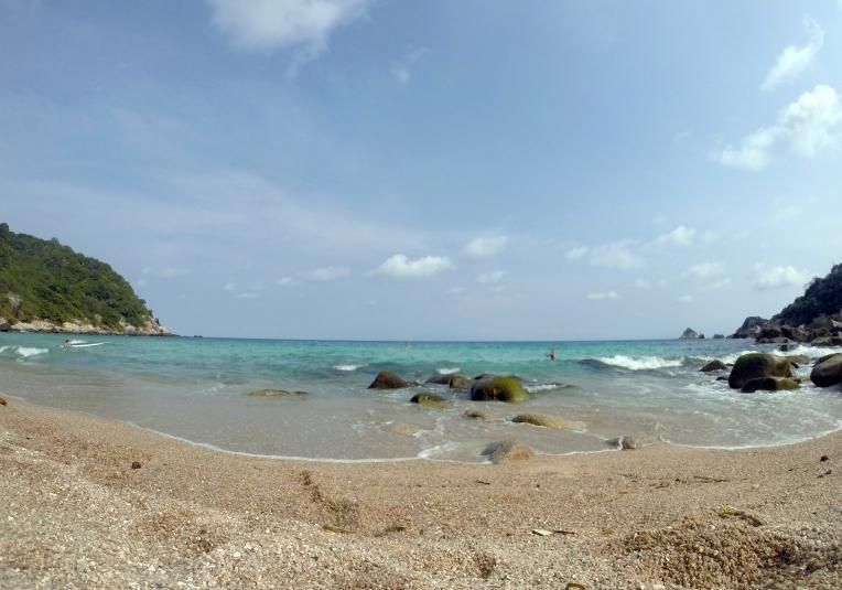 Praia de Ao Leuk em Koh Tao