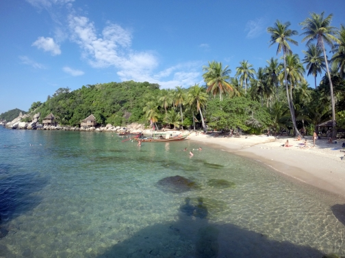 Sai Nuan Beach: Nossa praia preferida de Koh Tao.